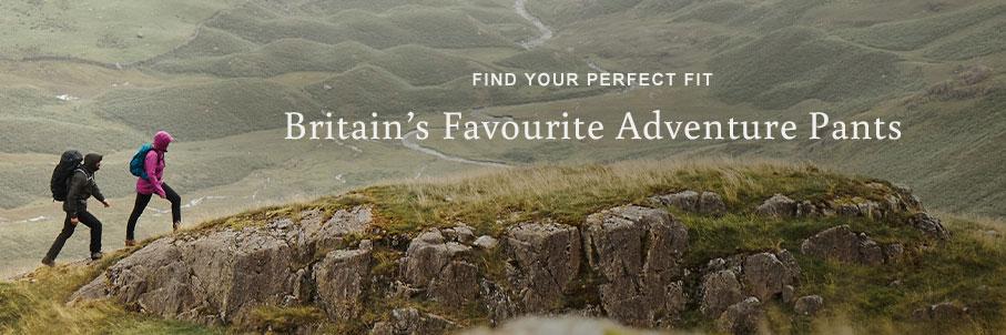 Britains Favourite Adventure Pants