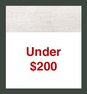 Under $200
