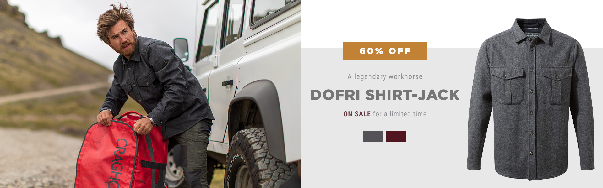 Dofri Shirt-Jack On Sale For a Limited Time