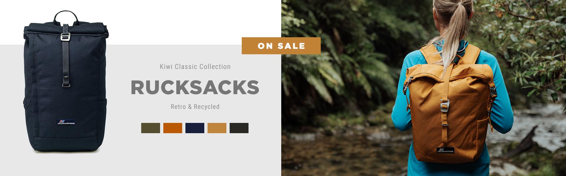 Kiwi Classic Collection Rucksacks